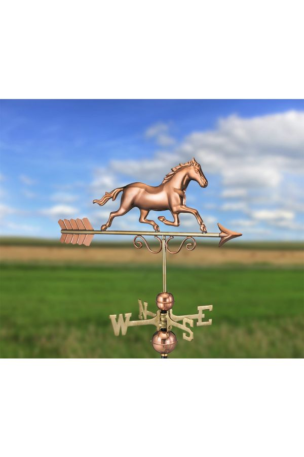 Galloping Horse Weather Vane