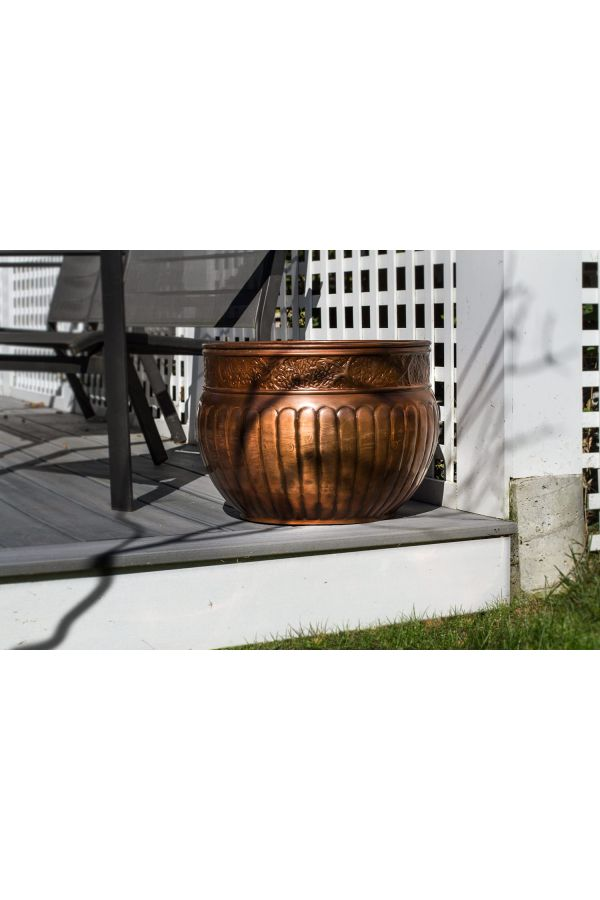 La Jolla Hose Pot - Copper Finish