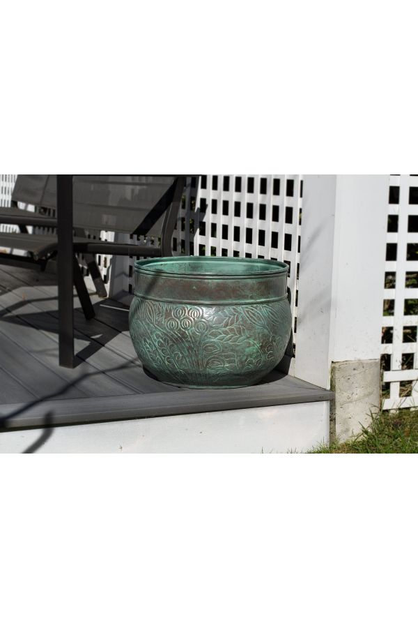 Key West Hose Pot - Blue Verde Steel