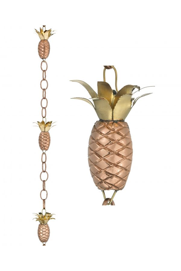 Pineapple Rain Chain
