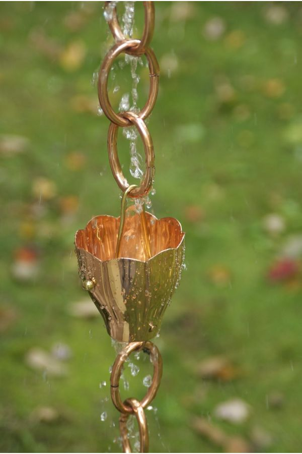Crocus Rain Chain
