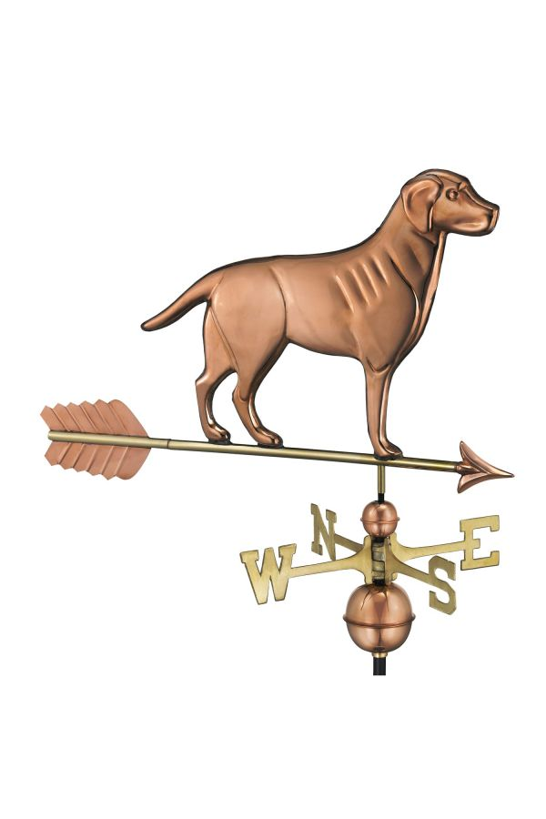 Labrador Retriever Weather Vane w/Arrow