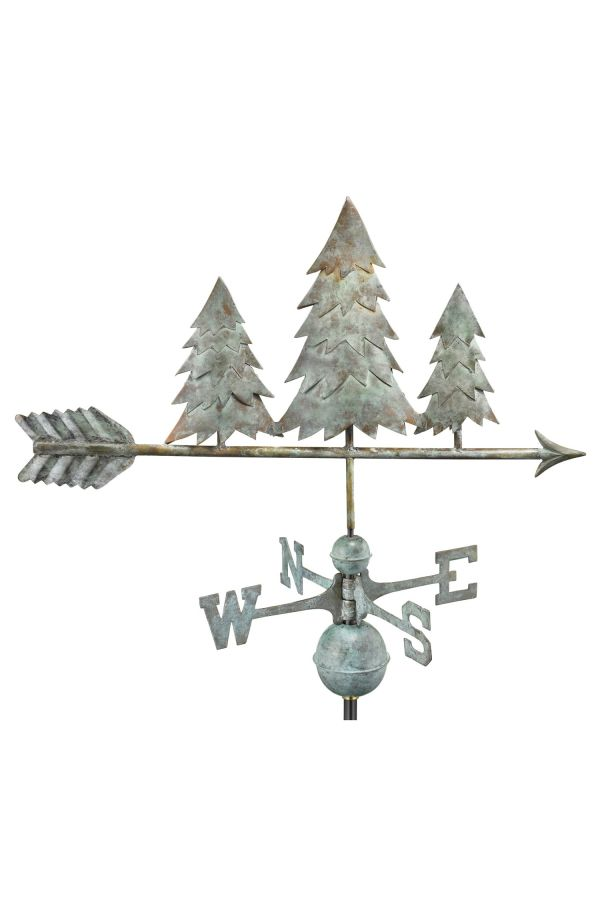 Pine Trees Weather Vane