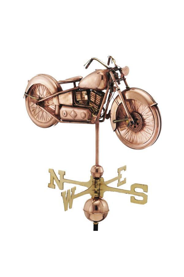 Motorcycle Weather Vane
