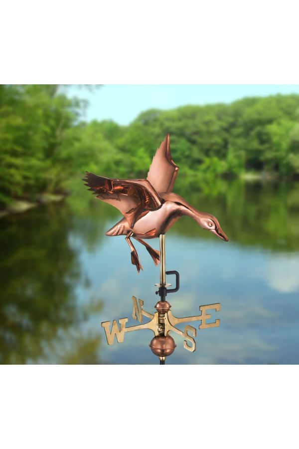 Landing Duck Garden Weather Vane