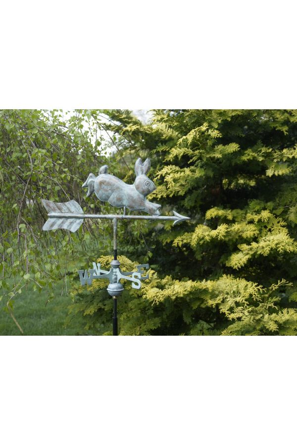 Rabbit Garden Weather Vane