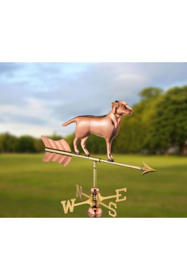 Labrador Retriever Garden Weather Vane