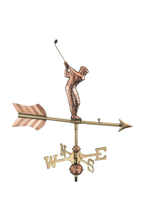 Golfer Garden Weather Vane