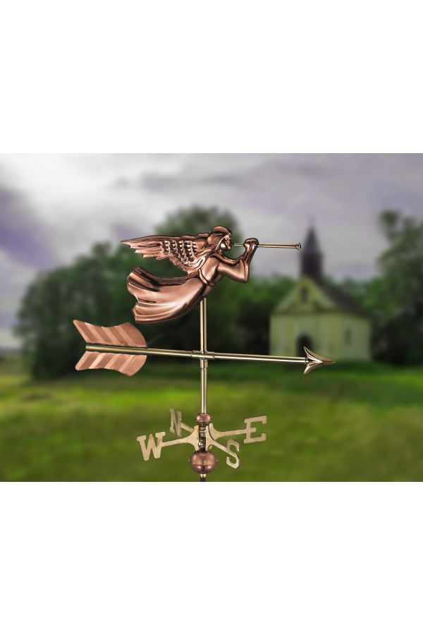Angel Garden Weather Vane