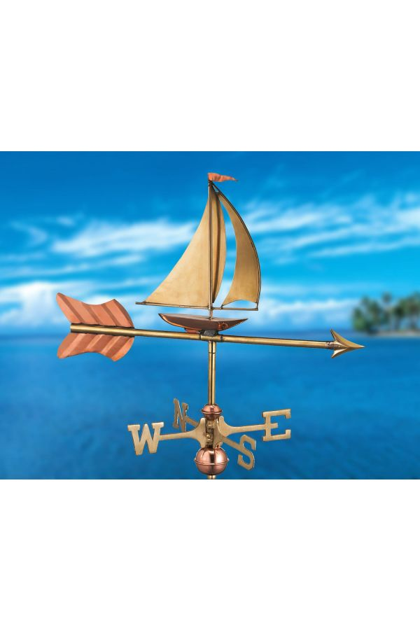 Sailboat Garden Weather Vane