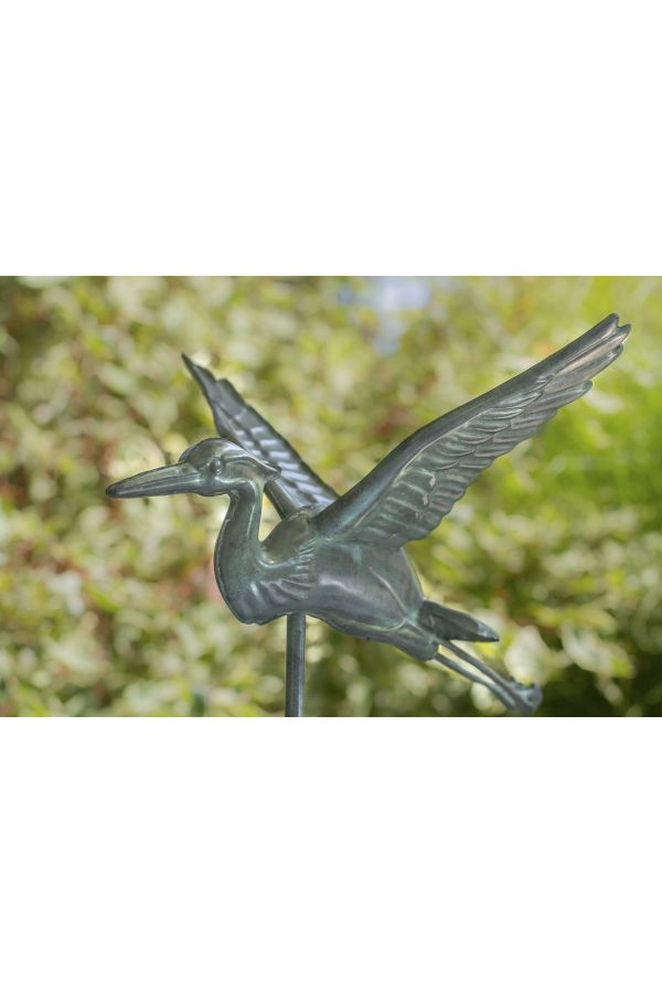 Blue Heron Garden Weather Vane