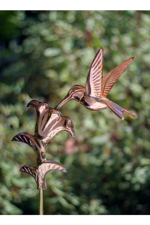 Hummingbird Garden Weather Vane