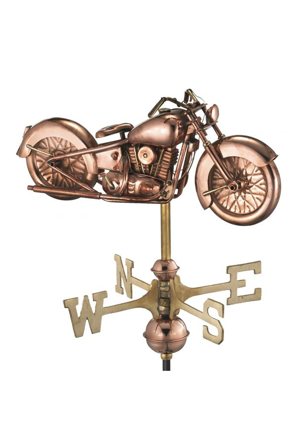 Motorcycle Garden Weather Vane