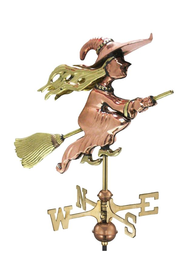 Witch Garden Weather Vane