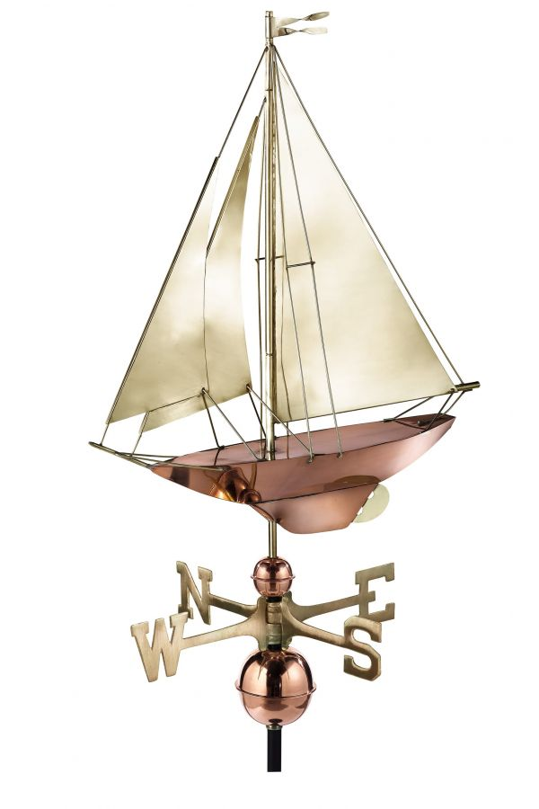 Racing Sloop Weather Vane
