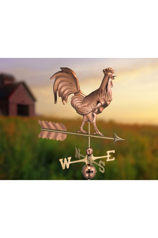 Smithsonian Rooster Weather Vane
