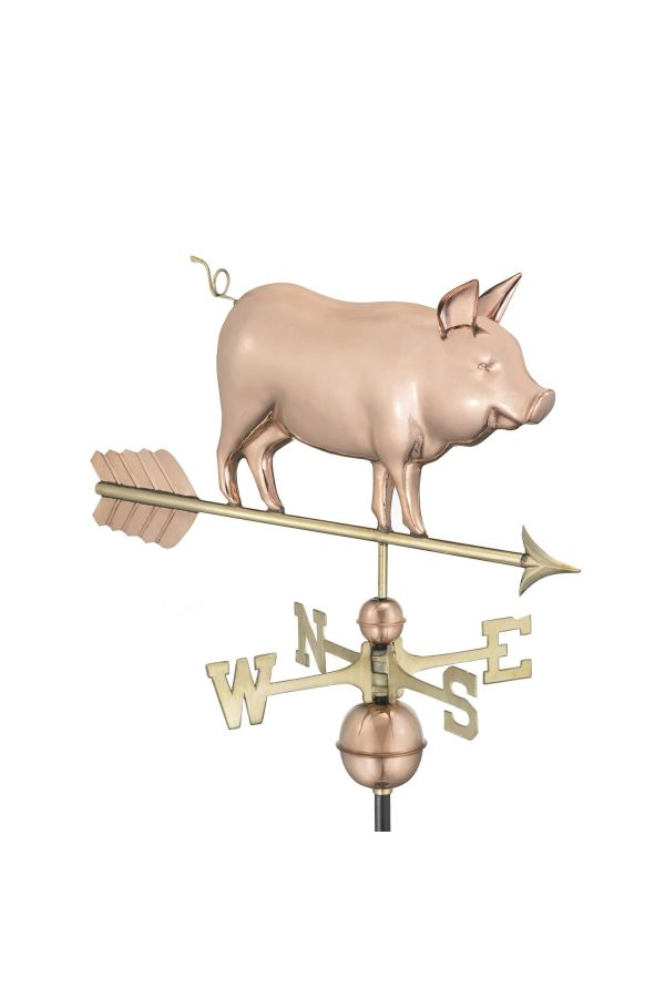 Country Pig Weather Vane
