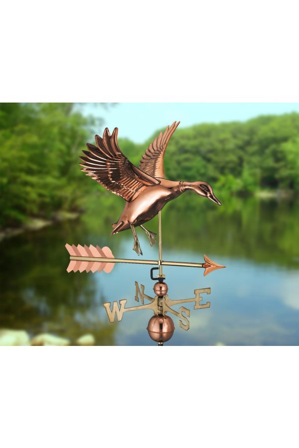 Landing Duck Weather Vane w/Arrow