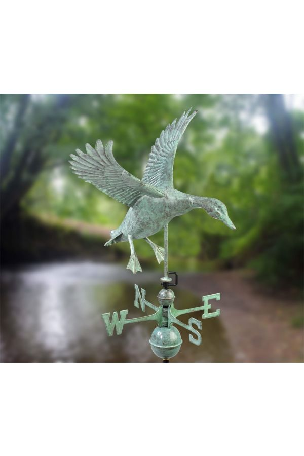 Landing Duck Weather Vane