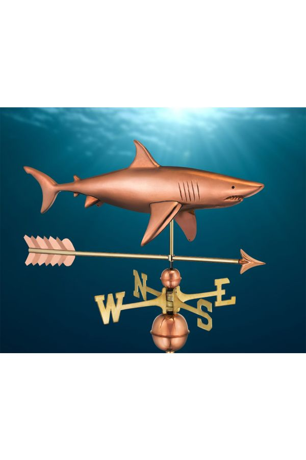 Shark Weather Vane w/Arrow