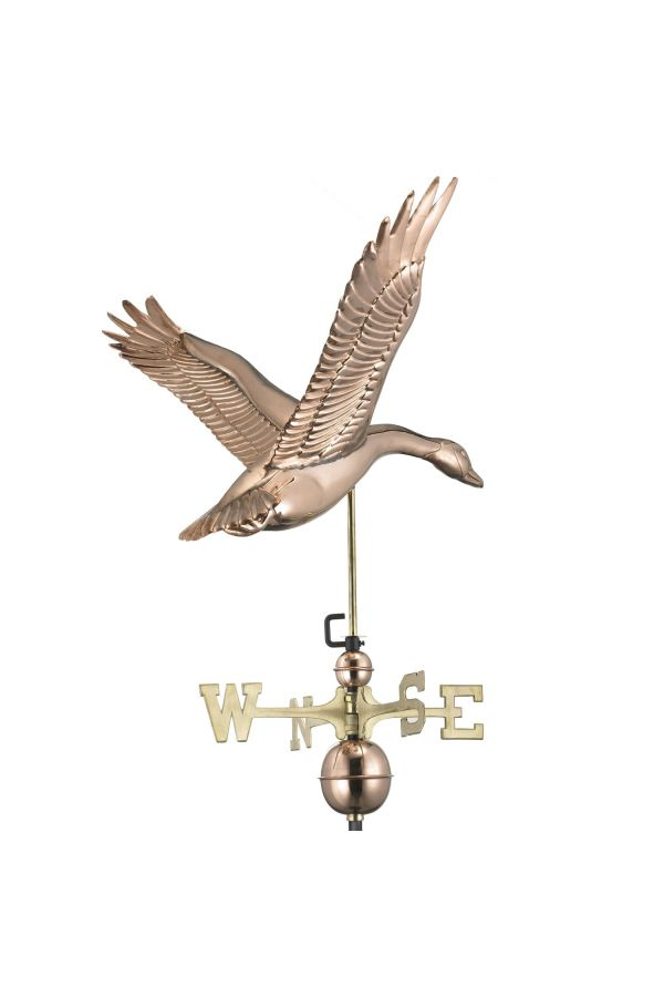 Feathered Goose Weather Vane