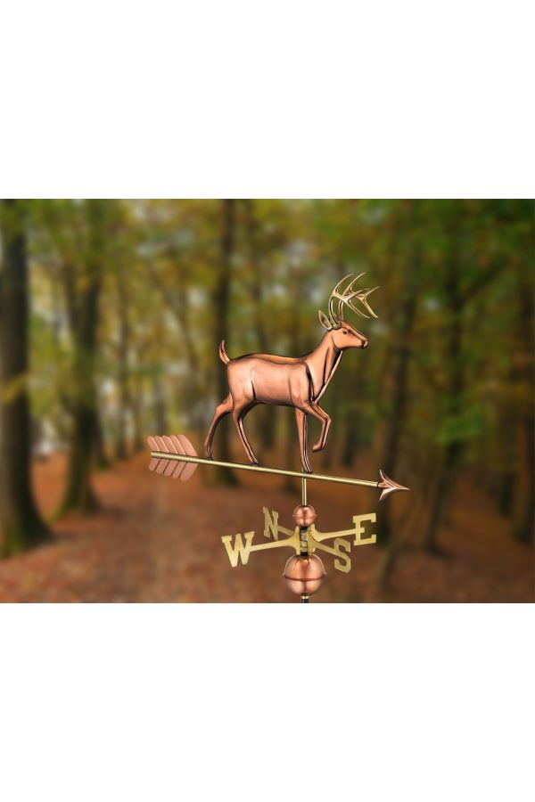 White Tail Buck Weather Vane