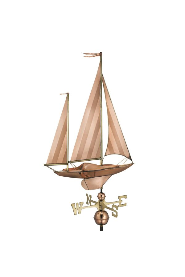 Large Sailboat Weather Vane