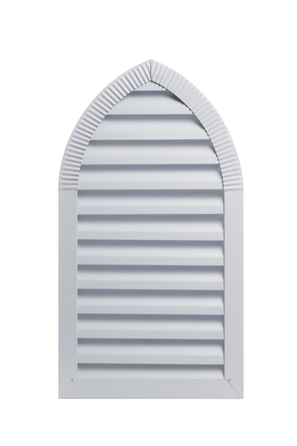 Custom Cathedral Top Louvers - .032 Aluminum