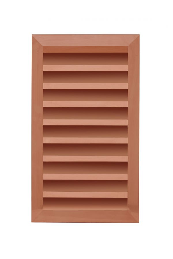 Custom Rectangle Louvers - 16 oz. Copper
