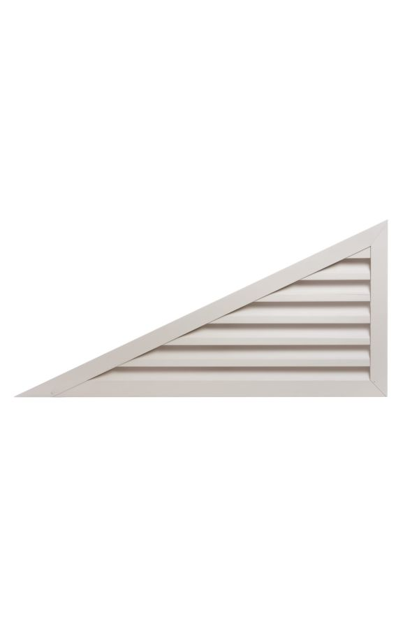 Custom Half Triangle Louvers - .032 Aluminum