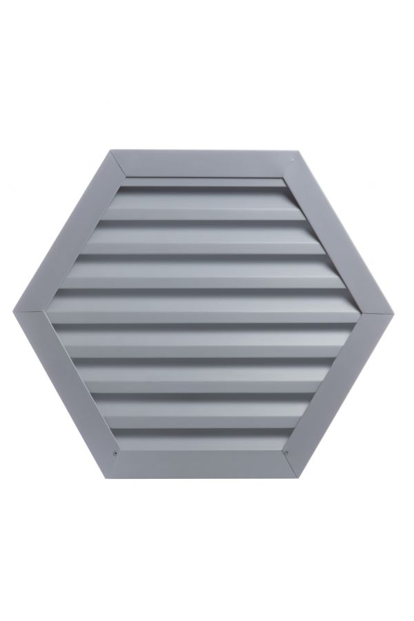 Custom Hexagon Louvers - .032 Aluminum