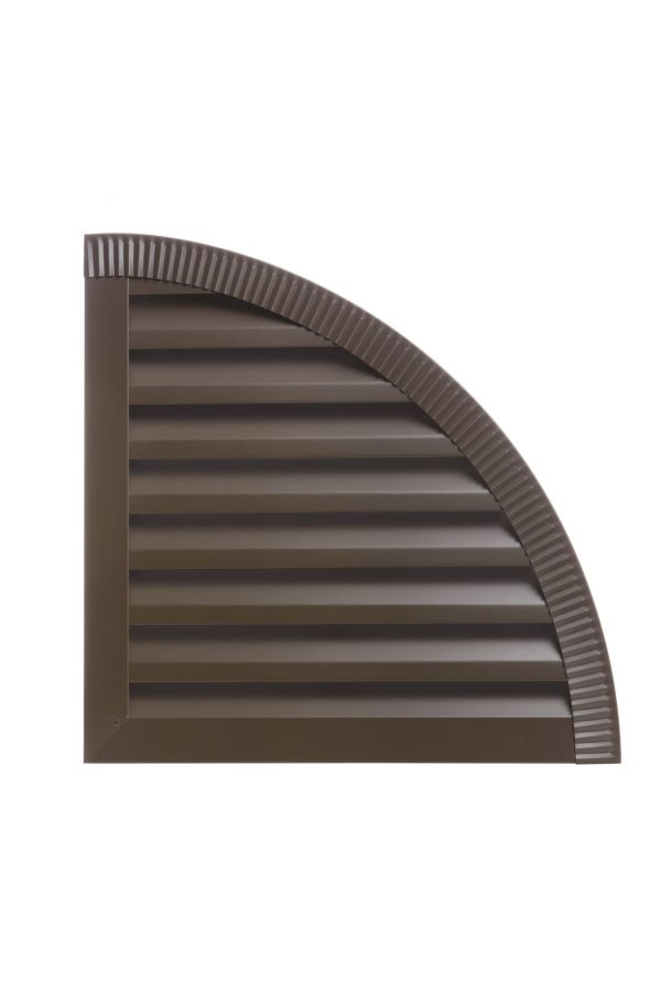 Custom Quarter Round Louvers - 29 Gauge Steel